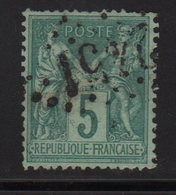 Type Sage - Jour De L An - GC 2451 - 1876-1898 Sage (Type II)