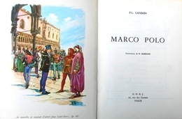 1963 - Marco-Polo Paul-Louis Landon ODEJ .Paris Junior De Poche Ill. N.Barbato Dessins Polychromes - Geschiedenis