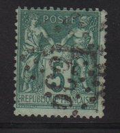 Type Sage - Jour De L An - GC 1539 - 1876-1898 Sage (Type II)