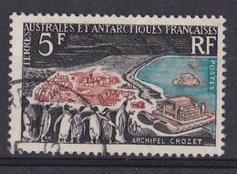 TAAF - N° 20 - Archipel Crozet - 20 % De La Cote - Used Stamps