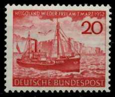 BRD 1952 Nr 152 Postfrisch X74BC5E - [7] Federal Republic