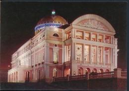 °°° 19869 - BRASIL - MANAUS - TEATRO AMAZONAS , ILLUMINATO °°° - Manaus