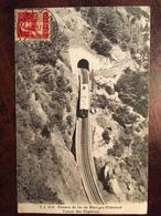 Cpa,Chemin De Fer De Martigny-Châtelard - Tunnel Des Charbons, écrite En 1917, éd J.J N°6713 - VS Valais