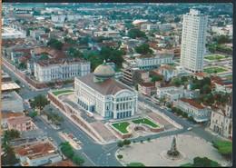 °°° 19871 - BRASIL - MANAUS - VISTA PARCIAL CON O TEATRO AMAZONAS - 1977 °°° - Manaus