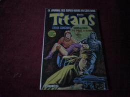 TITANS °   N° 77 JUIN   1985 - Titans