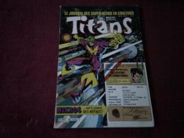 TITANS °   N° 85 FEVRIER   1986 - Titans