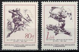 Albania 1981 _ The 100th Anniversary Of The Shtimja Battle Against The Turks _ MNH ** - Albania