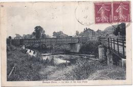 Dépt 27 - DANGU - La Gare Et Les Deux Ponts - Dangu