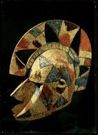 Maske / Masque Heaume  -  Bois De Fromager  -  Dafing / Dedougou  -  Ansichtskarte Ca.1980    (12554) - Kunstgegenstände