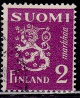 Finland, 1932, Standing Lion, 2Mk,  Sw#185, Used - Usati