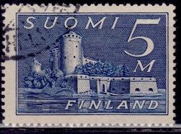 Finland 1930, Castle In Savonlinna, 5m, Used - Usati