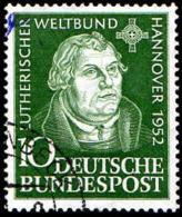 RFA Poste Obl Yv:  36 Mi:149 Martin Luther (Beau Cachet Rond) - Usados
