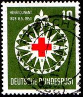 RFA Poste Obl Yv:  50 Mi:164 Henri Dunant (TB Cachet Rond) - Usados