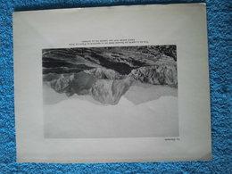 Réunion: «Vue De La Route De Salazie Prise De La Hauteur Du Point Du Jour» Document Grand Format De 1931. - Documenti Storici