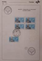 U) 1982, BRAZIL, TRIBUTE TO THE BRIGADIER EDUARDO GOMEZ, FDBULLETIN - Brazil
