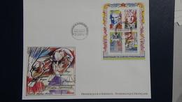 D22 Enveloppe 1er Jour La Numismatique Française Bloc N° 12 Dimentions : H = 17.4 Cm L = 22 Cm Poids : 12 Grammes - 1990-1999