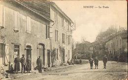 CP 09-  RIMONT - La Poste-  Animée  Voyagée 1924- Scans Recto Verso- Paypal Sans Frais - Altri Comuni