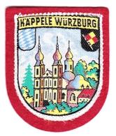 Ecusson Tissu - Allemagne - Käppele Würzburg - Blason - Armoiries - Héraldique - Stoffabzeichen