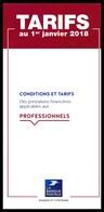 Frankreich / France: 'Postbank – Tarife, 2018' / 'La Banque Postale – Tarifs' / 'Postal Bank – Prices' - Livres & Logiciels