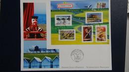 D23 Enveloppe 1er Jour La Numismatique Française Issu Du Bloc N° 57 Dimentions : H = 17.4 Cm L = 22 Cm Poids : 12 Gram - FDC