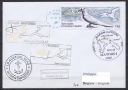 TAAF - La Réunion - Bateau MARION DUSFRESNE - Cachets Opérations MD223 / MAYOBS 4 - Flam. Le Port 05-08-2019 - Terres Australes Et Antarctiques Françaises (TAAF)