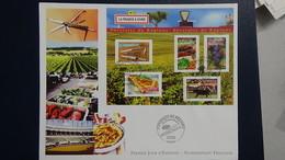 D23 Enveloppe 1er Jour La Numismatique Française  Issu Du Bloc N° 68 Dimensions : H = 17.4 Cm L = 22 Cm Poids : 12 Gram - FDC