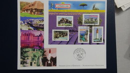 D23 Enveloppe 1er Jour La Numismatique Française  Issu Du Bloc N° 77 Dimensions : H = 17.4 Cm L = 22 Cm Poids : 12 Gram - FDC