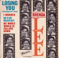 BRENDA LEE - EP - 45T - Disque Vinyle - Losing You - 10645 - Rock