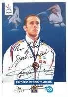 FREDERIC DEMONTFAUCON - JUDO -- Signature...Autographe Véritable... - Artes Marciales