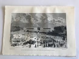 Gravure PARIS Le 11 Avril 1792 La Place Louis XV Prit Le Nom De Place De La Revolution, Aujourd'hui Place De La Concorde - Old Paper