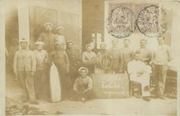 CARTE PHOTO SOUS MARIN FARFADET 1905 TUNIS - Sous-marins