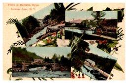 New York  Upper  Saranac Lake Multi-View Bartletts - NY - New York
