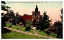 New York    Saranac Lake Chapel At Adirondack Cottage Sanatarium - NY - New York