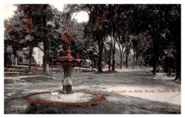 New York  Oneida , Fountain On Main Street - NY - New York