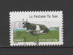 "FRANCE / 2014 / Y&T N° AA  953 : ""Vaches"" (Bretonne Pie Noir) - Choisi - Cachet Rond - Luchtpost"