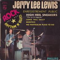 JERRY LEE LEWIS - EP - 45T - Disque Vinyle - High Heel Sneakers - 434550 - Rock