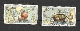 Islande N°715, 716 Cote 4 Euros - 1944-... Republic