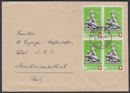 B3  /  ANDEER - MADERANERTHAL  1940 - Covers & Documents