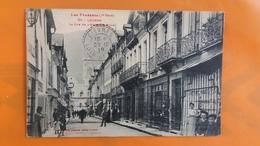 Luchon - La Rue De L'hotel De Ville - Luchon
