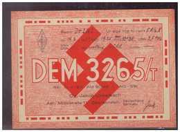 Dt-Reich (009371) Funkkarte Oberlahnstein Vom 14.3.1939, Gelaufen - Briefe U. Dokumente