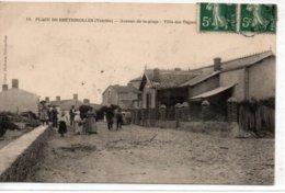 Plage De Brétignolles- Avenue De La Plage -Villa Des Vagues - Bretignolles Sur Mer