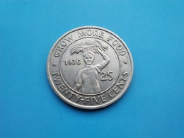 LIBERIA   25  Cents  1976 - Liberia