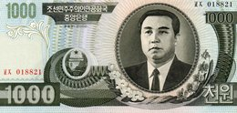 NORTH KOREA  1000 WON 2002 P-45s.1 UNC  SERIE 018821 - Korea, North