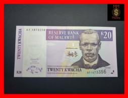 MALAWI 20 Kwacha 1.10.2001  P. 44 A  UNC - Malawi