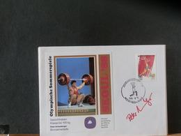 86/984    4 DOC.  KOREA  AVEC SIGNATURES - Zomer 1988: Seoel