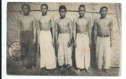Laos Ethnographie Groupe D'hommes - Laos