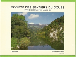 Société Des Sentiers Du Doubs - 1986 - Les Gaillots - Photographie