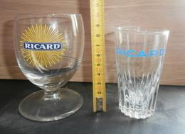DEUX VERRES RICARD _ MOMIE - Glasses