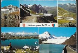 SVIZZERA - NUFENENPASS - VIAGGIATA - Svizzera