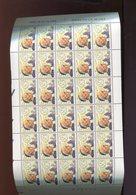 Belgie 1994 2558 Pope JohN Paul II Father Mutien-Marie Vel Plaatnummer 1 - Full Sheets